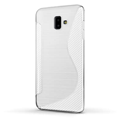 wholesale dealer 5077b 4633b SLEO Case for Samsung Galaxy J6+ /J6 Plus Case,  [Exact-Fit][Scratch-Resistant] Transparent Clear Soft TPU Smooth Case Cover  for Samsung Galaxy J6+ /J6 ...