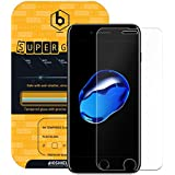 BIOSHIELD 9H Tempered Glass Screen Protector for iPhone 7 with 9H Hardness, Anti Shock, AFP, HD [2 Sheets]