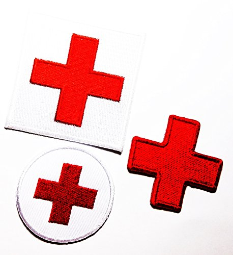 Tribal Flame Trim (PP patch Set 3 Nursing rectangle patch , Circle nurse patch , nurse patch DIY Applique Embroidery Iron on Patch)