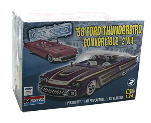 14280 - Revell-Monogram - '58 Ford Thund - Ford Thunderbird Model Kit Shopping Results