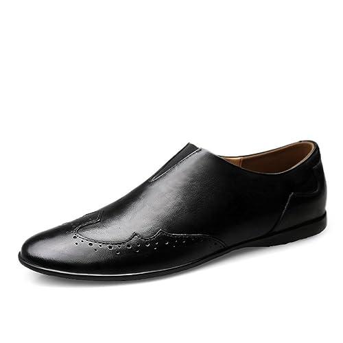 Vestir para Hombre Mocasines Verano Moda Negocios Formales Zapatos Slip On Conducción: Amazon.es: Zapatos y complementos
