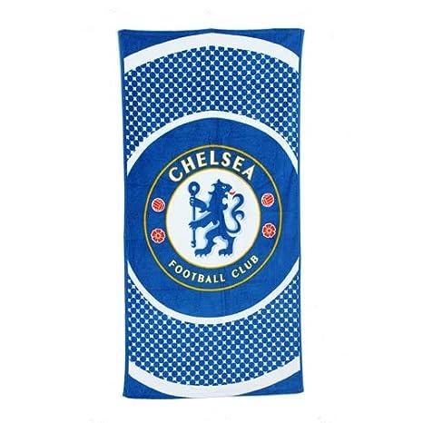 Producto oficial de Chelsea fútbol piscina toalla de playa de viajes de vacaciones Diana: Amazon.es: Equipaje