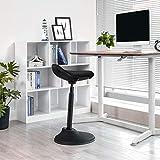 SONGMICS Standing Desk Chair, Adjustable Ergonomic