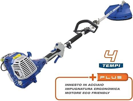 Hyundai CG-KW-400 - Desbrozadora de 4 tiempos, cortacésped cortacésped solo gasolina 4 tiempos 40 cc 1,7 HP: Amazon.es: Bricolaje y herramientas
