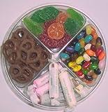 Scott's Cakes 4-Pack Pectin Fruit Gels, Dark Pretzels, Salt Water Taffy, & Assorted Jelly Beans