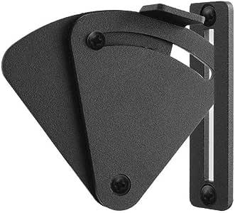 LWZH Kit de bloqueo deslizante para puertas correderas de madera para puertas correderas, puertas de bolsillo, garaje y cobertizo, puertas de madera (negro): Amazon.es: Bricolaje y herramientas