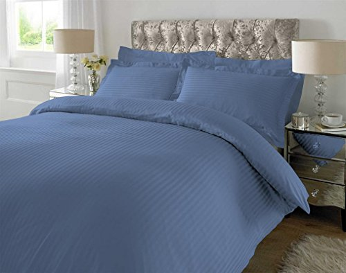 BED SHEET Set 6 Piece 300 Thread Count Striped   100% Pima C
