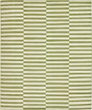 Unique Loom Williamsburg Collection Casual Striped Green Area Rug (8' 0 x 10' 0)