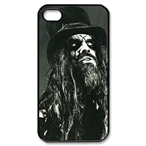 Rob Zombie Image Iphone 4,4s Case Plastic New Back Case by runtopwell