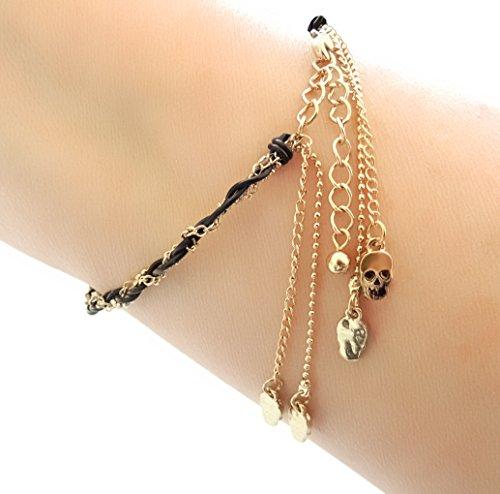 gold charm brackets - 8