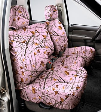 SS7344TTPK Covercraft Seat Saver Second Row True Timber Pink (Covercraft True Timber Camo)