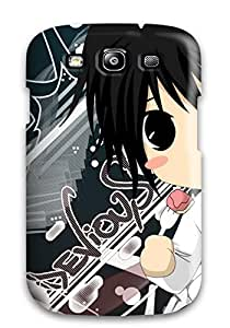 Durable L With Strawberry Cake Death Note Anime Other Back Case/cover For Galaxy S3