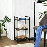 VASAGLE Bathroom Shelf, 3-Tier DIY Storage