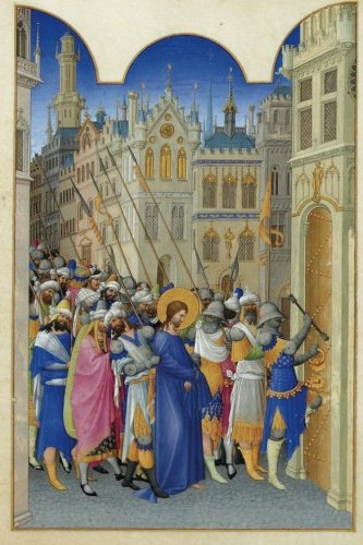 """Read Online """"Christ Led to the Praetorium"""" by The Limbourg Brothers : Journal (Blank / Lined) (Art of Life Journals) pdf"""