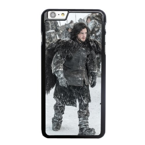 Coque,Coque iphone 6 6S 4.7 pouce Case Coque, Game Of Thrones Jon Snow Cover For Coque iphone 6 6S 4.7 pouce Cell Phone Case Cover Noir