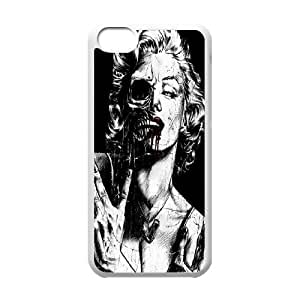 Zombie Marilyn Monroe Cool pictures PC Hard Plastic phone Case Cover For Iphone 5c JWH9136854
