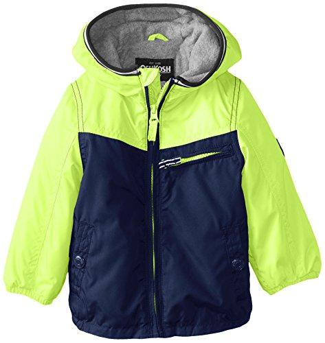 Osh Kosh Baby Boys' Lightweight Single Jacket, Yellow, 18 Months by OshKosh B'Gosh