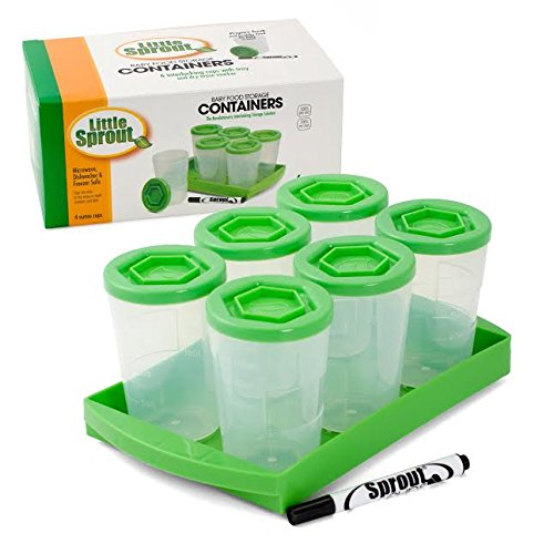 baby food containers reusable stackable