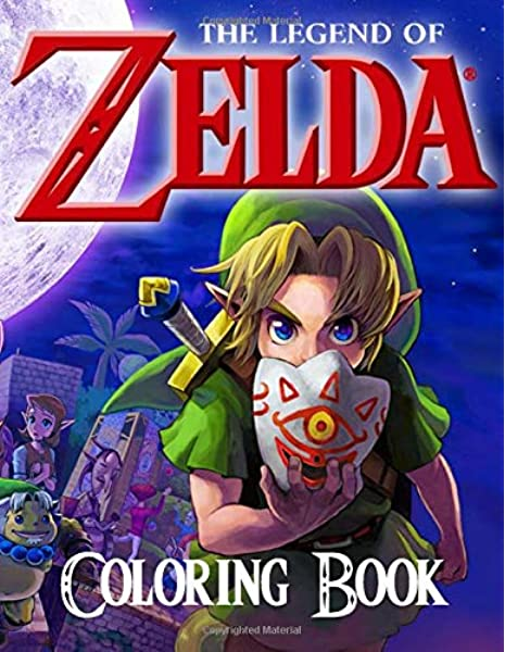 Legend of Zelda Printable Coloring Pages - Get Coloring Pages | 600x465
