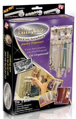Amazoncom Bling eez Blingeez Jewelry Organizer Home Kitchen