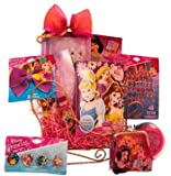 Disney Princess Sleigh Christmas Gift Baskets | Christmas Gift Baskets for girls to have a look like princess A perfect Christmass gift basket for kids to create a very special Christmas