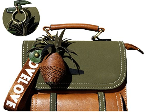 Green Purse Small brown Travel Fashion Women Bag Satchels Backpack Handbag Z45w4g8x