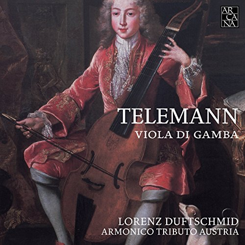 Telemann: Concerti, quadro, sonate con basso di viola solista