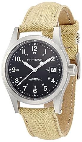 Hamilton Men's H69419933 Khaki Field Black Dial Watch (Hamilton Khaki Field Automatic)