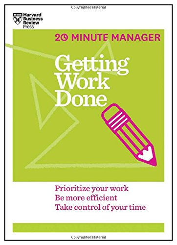 Getting Work Done 20 Minute Manager product image