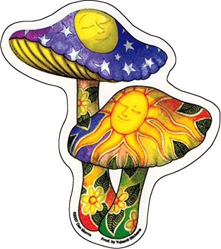 Dan Morris - Mushrooms -Sticker / Decal