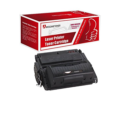 Awesometoner Unknown Compatible Toner Cartridge Replacement for HP ZNH-Q5942X-01 ( Black )