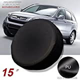 15'' black Spare Wheel Tire Cover/Covers Fit For All Car Universal