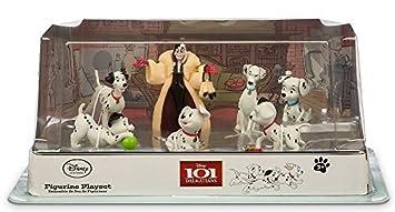 Disney Store 101 Dalmatians Figurine Playset Cake Topper 5 Piece LOOSE NEW