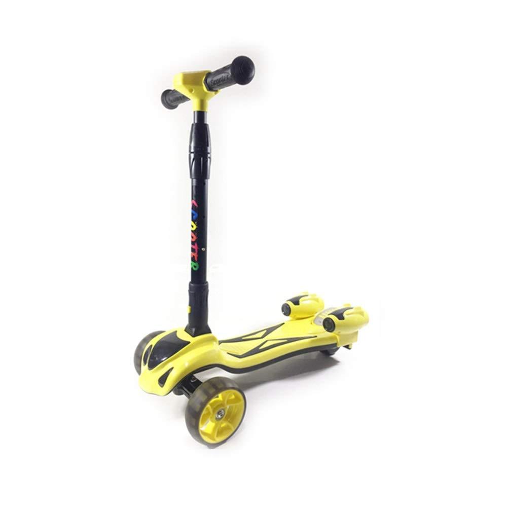 【数量は多】 Meet now 男性と女性のために適した子供の三輪フラッシュスクーターに適して B07R1VCVRF Yellow、折りたたむことができる、持ち運びが簡単、新しいスクーター 品質保証 ( ) Color : Yellow ) B07R1VCVRF, 浅羽町:3ea4c343 --- svecha37.ru