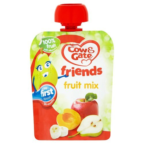 Cow & Gate - Baby Food 4-6 Months - Fruit Mix - 80g by Cow and Gate
