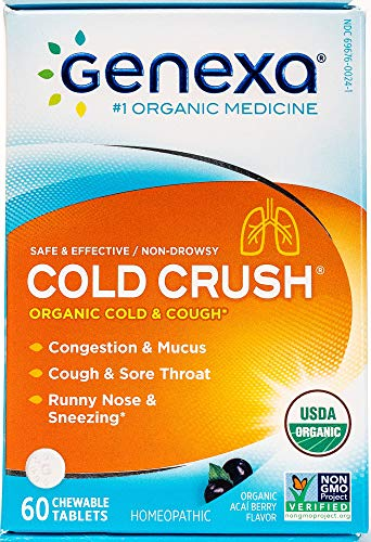 Genexa Multi Symptom Cold Relief Homeopathic Cold Medicine For