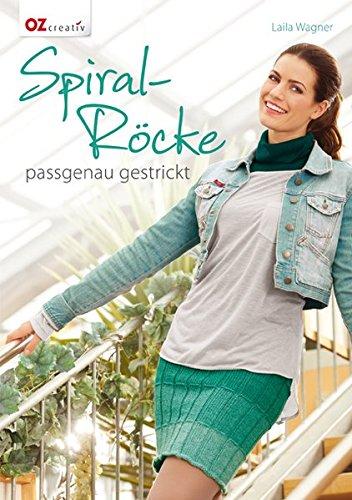 Spiral-Röcke: passgenau gestrickt