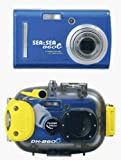Sea & Sea DX-860G Underwater Digital Camera & Housing, 6.2 Mega-pixel, 3x Optical Zoom, 5x Digital Zoom, Blue