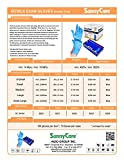1000 SunnyCare #8202 Blue Nitrile Medical Exam