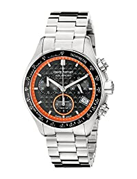 Claude Bernard Men's 10211 3M NO Analog Display Swiss Quartz Silver Watch