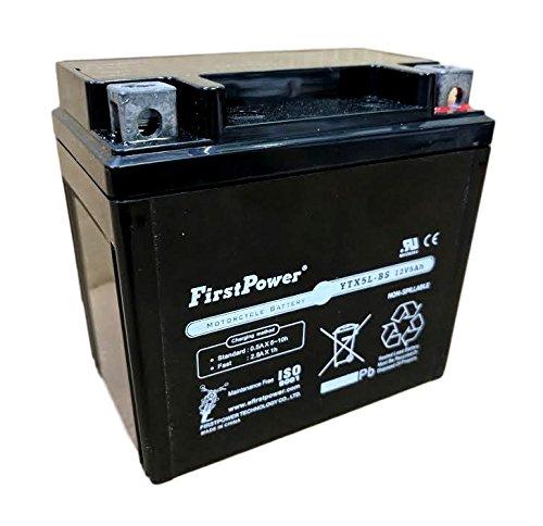 12b Battery Pack (FPM5-12B AGM 12v 5ah for Honda CRF250X CRF230F CRF150 Battery)