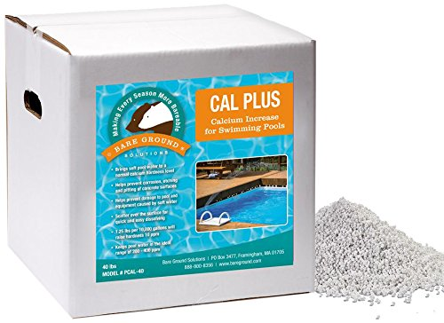 Bare Ground PCAL-40 CalPlus Calcium Increaser for Swimming Pools, 40 lbs ()