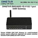 DINSTAR UC2000 DWG2000-1G-V122 1 Port GSM Voip Gateway SMS
