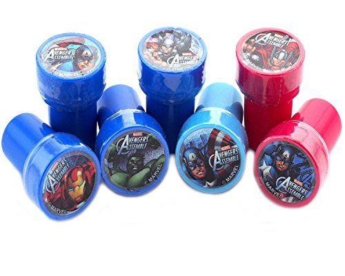 Marvel Avengers Stampers Party Favors (10 Stampers) (Avengers Party Favours)