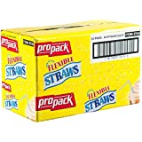 Propack Flexible Straws 24 Packs of 40 Straws Each = 960 Straws