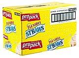 Propack Flexible Straws, 24 Packs of 40 Straws Each (960 Straws)