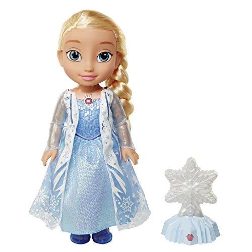 Taldec Disney – La Reine des Neiges – Elsa Nothern Light – Poupée Parlant Anglais + Flocon Magique