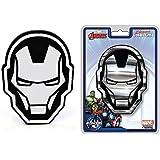 Iron Man Helmet Mask Avengers Assemble Marvel Comics Auto Car Truck SUV Vehicle Garage Home Office School 3D Chrome Emblem Decal - Chroma Emblemz