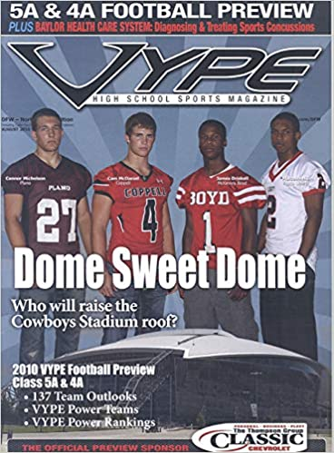 Vype High School Sports Magazine Magazine August 2010: Various