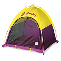 """Pacific Play Tents Lil Nursery Portable Dome Tent for Infants - 36"""" x 36"""" x 3..."""